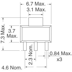 Diodes Incorporated FZT749TA