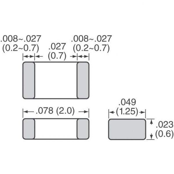 Murata Electronics GCM216R72A223KA37D