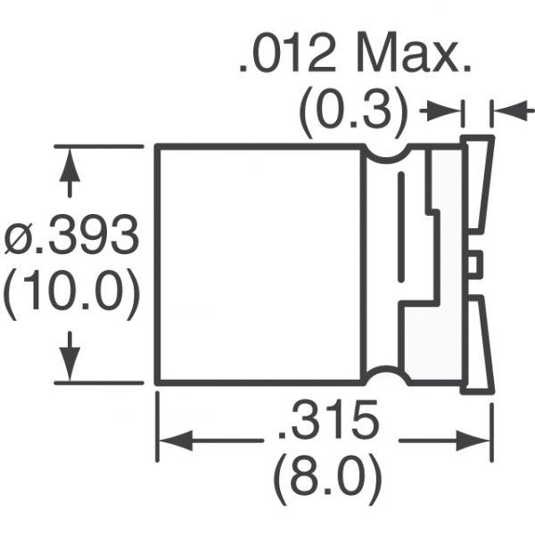 Nichicon PCF0J331MCL1GS