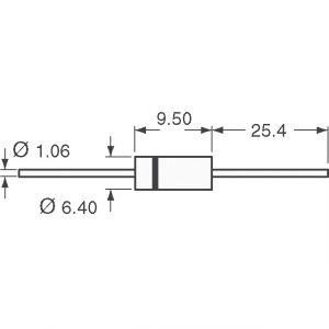 Micro Commercial Components (MCC) 1.5KE100CA-TP