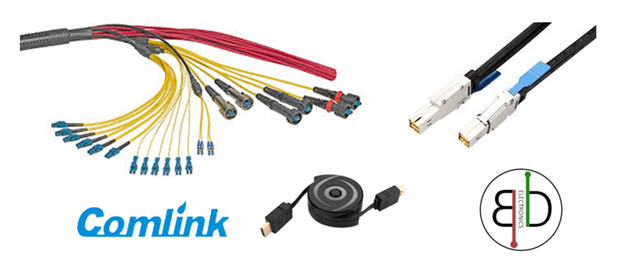 Various kinds of cables from Comlink